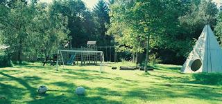 The main Mazzard Farm play area