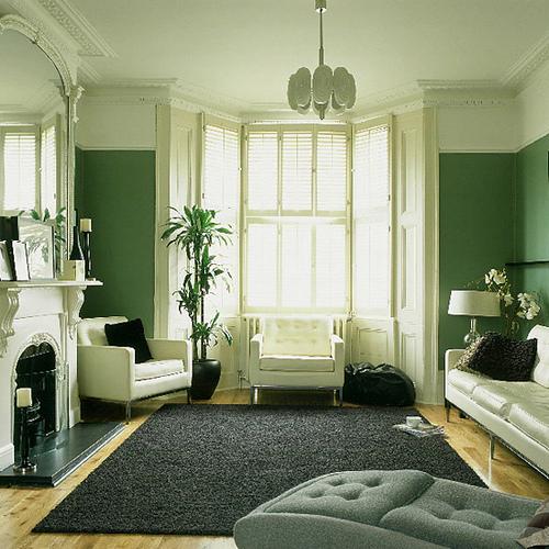 Grune Farbe Fur Körper :  und absolut entspannend wohnzimmer gestaltung mit grüner farbe
