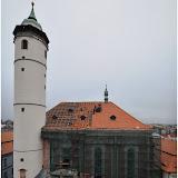 Oprava střechy kostela - 12.11.2014