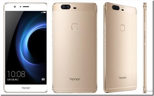 Huawei Honor V8 Diperkenalkan dengan Duo Kamera Belakang