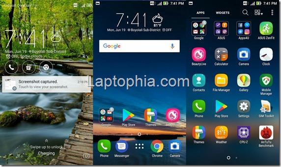 Software & Fitur Asus Zenfone Live ZB501KL