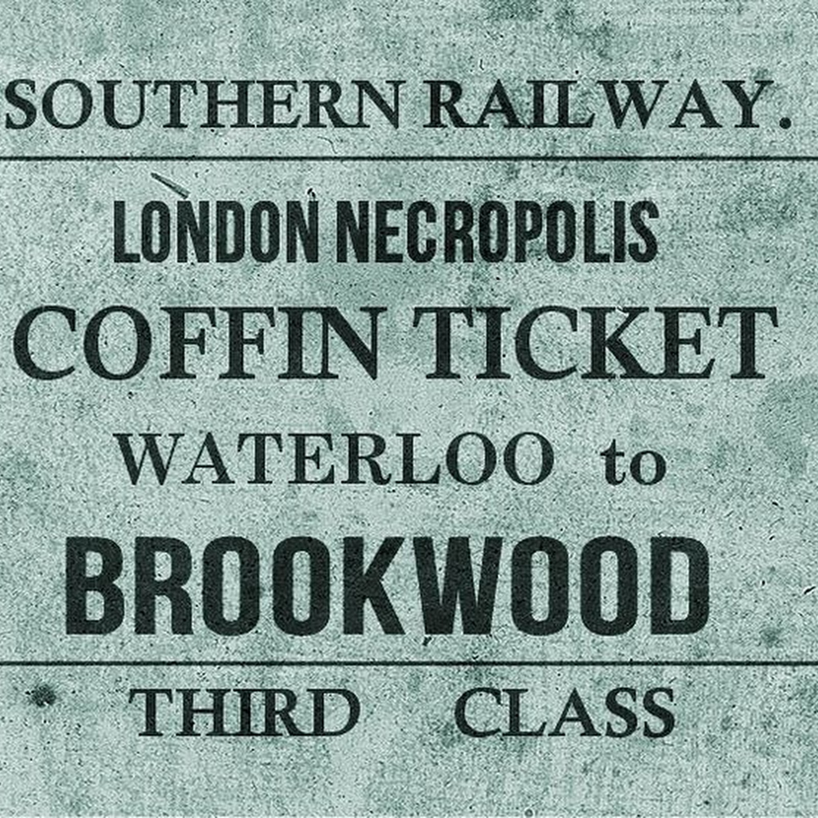 London Necropolis Railway: The Train For The Dead