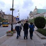 Strolling through Warsaw...