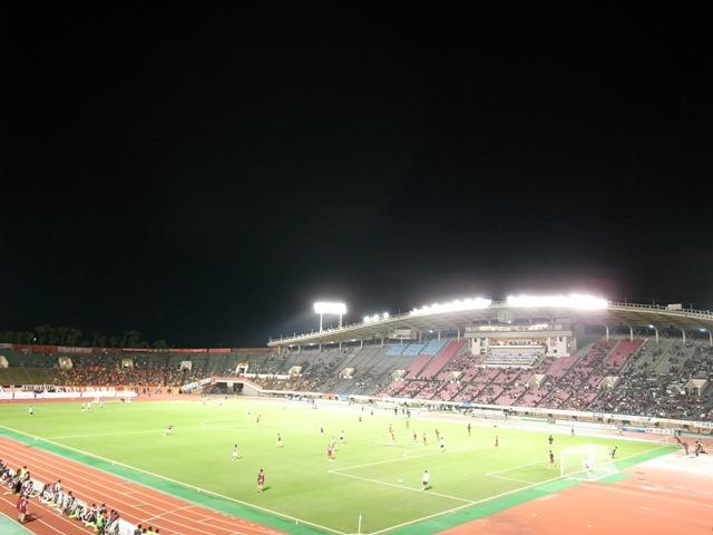 神戸総合運動公園ユニバー記念競技場ヴィッセル神戸感想