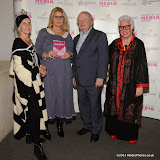 WWW.ENTSIMAGES.COM -   Bridget Sojourner, Sue Bourne, John Sergeant and Sue Kreitzman    at     Older People in the Media Awards at The British Library London November 13th 2014Annual awards organised by charity Independent Age, in celebration of coverage which has positively portrayed older people or sensitively highlighted the issues they face. Hosted by Independent Age and sponsored by Barchester Healthcare.                                                 Photo Mobis Photos/OIC 0203 174 1069