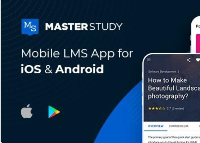 Master Study  App  Source Code