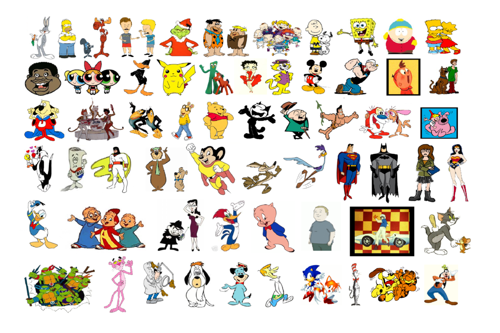 Cartoon 5 Characters : Cartoon network all cartoons list ankaperla