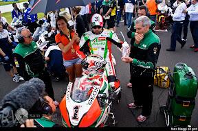 Max Biaggi on grid