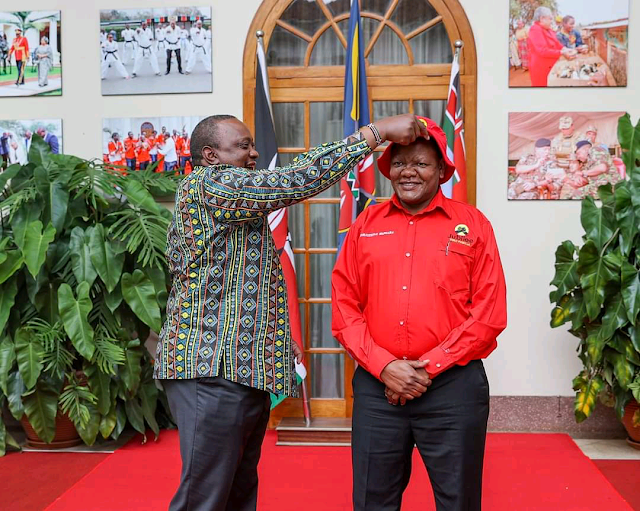 Jubilee candidate Githinji Joseph Mung'ara