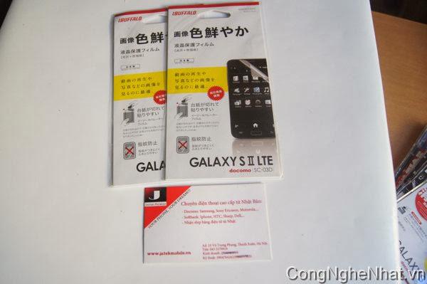 Dán màn SamSung Galaxy S 2 (SC-03D) cho độ nét cao