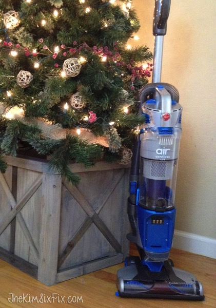 Hoover vacuum at christmas