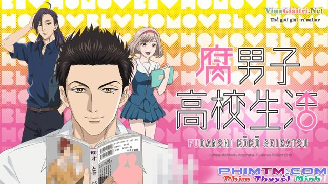 Xem Phim Fudanshi Koukou Seikatsu - The Highschool Life Of A Fudanshi - phimtm.com - Ảnh 1