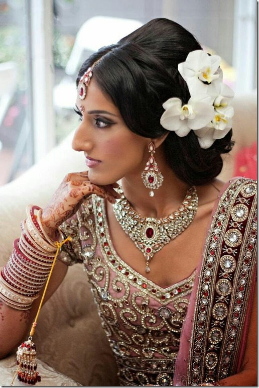 Indian Wedding Hairstyles (21)