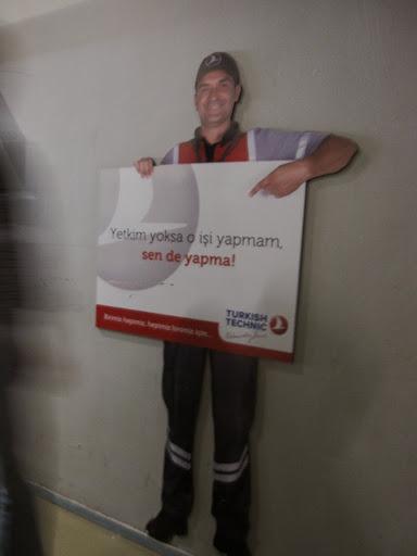 Safety sign, Turkish Technic