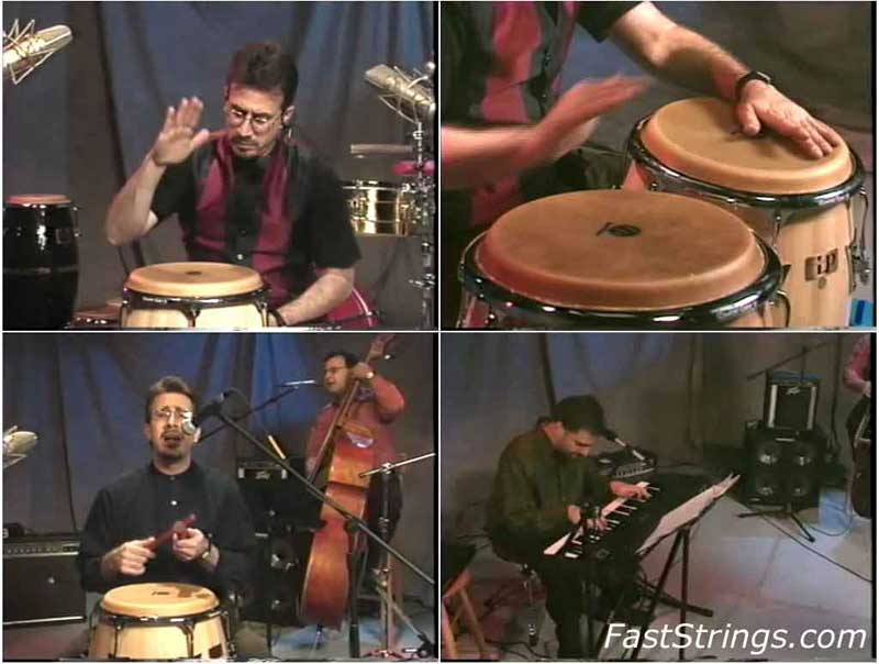Bobby Sanabria - Getting Started on Congas 1 & 2