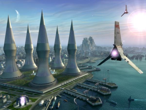 Spaceport, Fiction 1