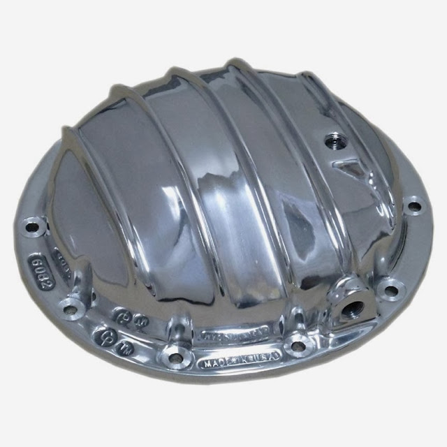 Polished Cast aluminum differential covers for 1964 and up Buick 10 bolt rear end 280.00 with hardware. Made in USA