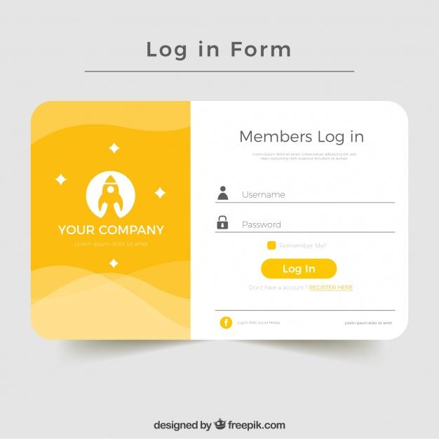 Log In Form