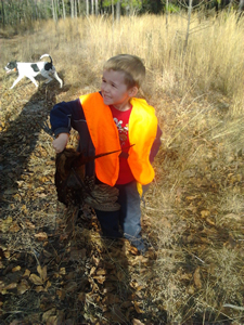 Christmas Hunt - Marc Brothers' son