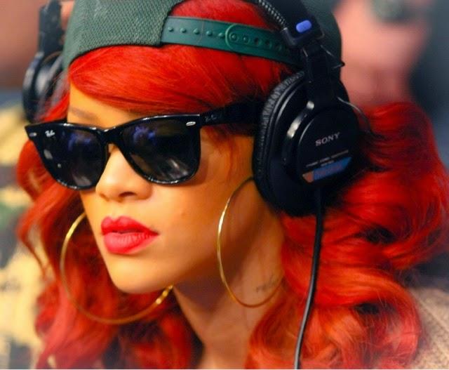 Rihanna attends UFC 132 Fight in Spring 2011 Jeremy Scott