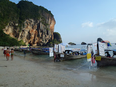 The beach version of street food on Phra Nang Beach