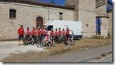 5 - I portacolori dell'Asd Biciverde di Monselice che hanno pedalato per solidarietà