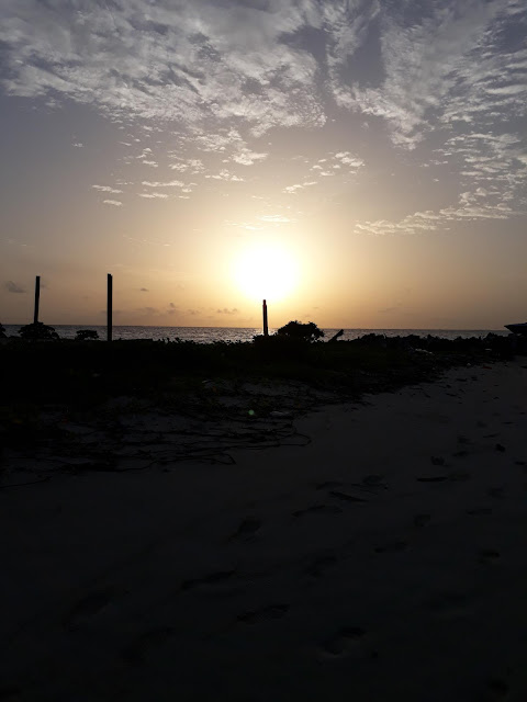 sunset at bikini beach Gulhi