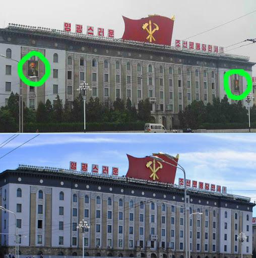 Marx, Lenin, Kim Nhật Thành tại Mông Cổ, Triều Tiên Marx_lenin_gone