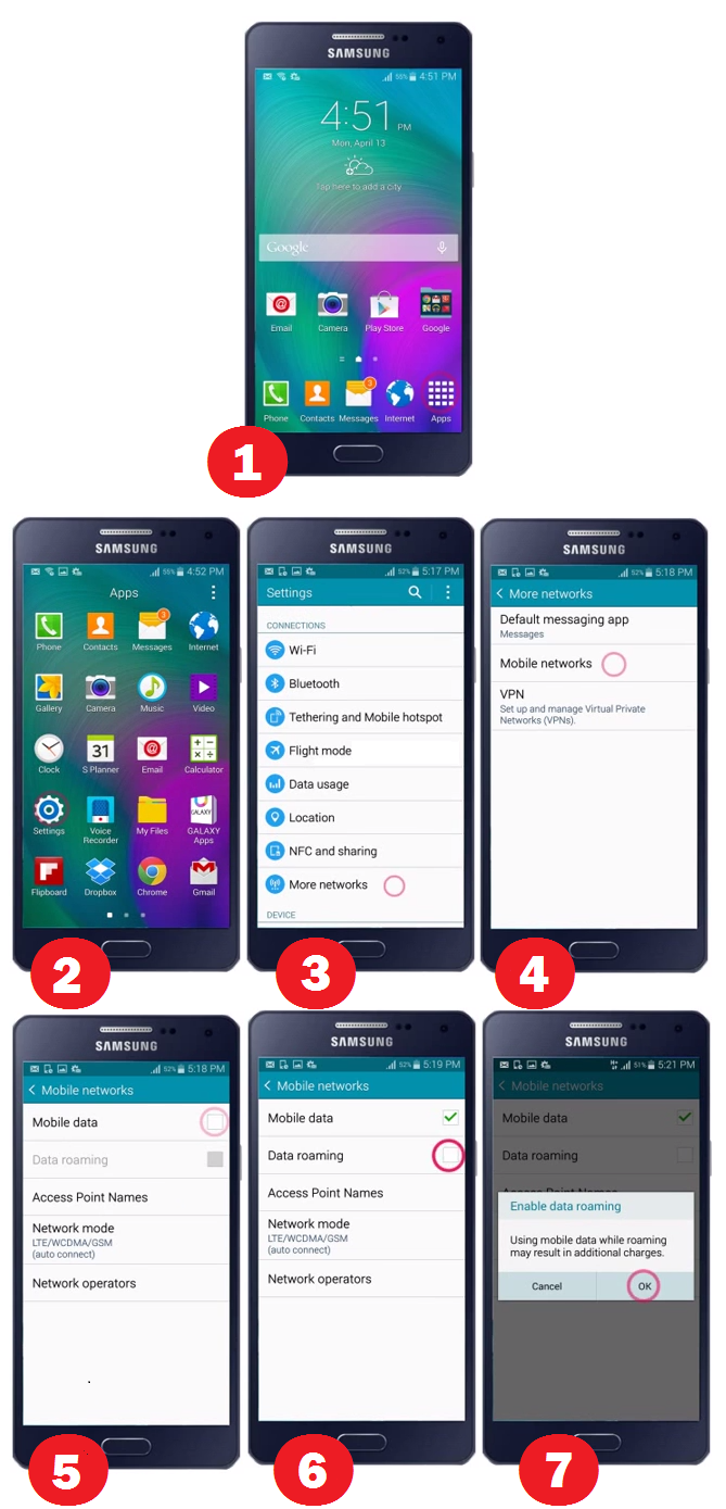 Image of Here is Turn Off Data Services on Samsung Galaxy A3, A5, and A7