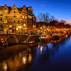 Amsterdam in Blue and Yellow