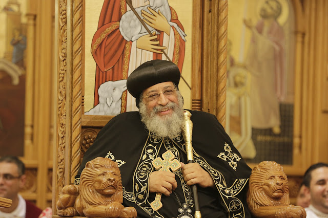 His Holiness Pope Tawadros II visit to St. Mark LA - _09A9183.JPG