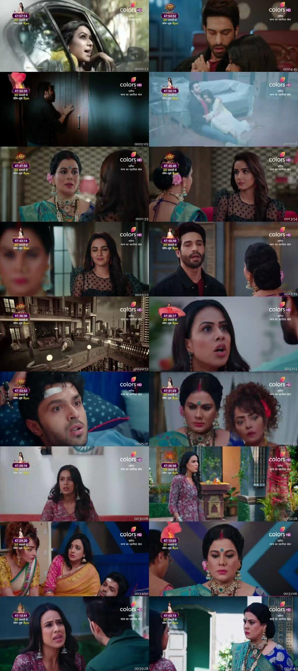 Screenshots Of Hindi Show Naagin Season 4 2020 Episode 11 300MB 480P HD
