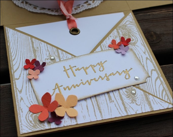 Explosion Box Stampin Up 10th Anniversary Hölzerne Hochzeit Wedding Rose Flowers 04a
