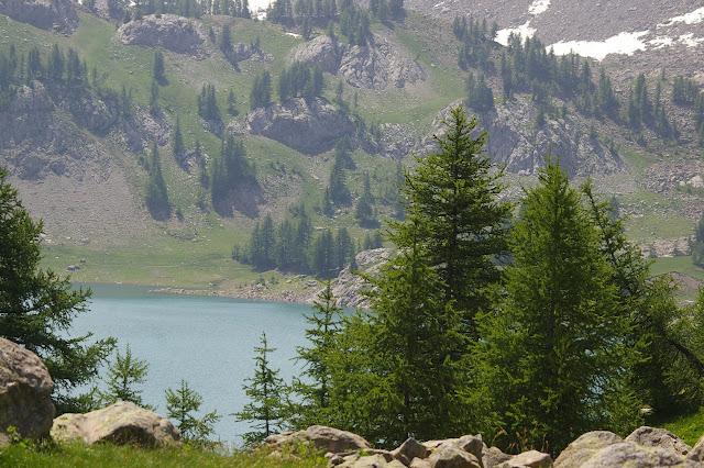 Lac d'Allos, 10 juillet 2010. Photo : J.-M. Gayman