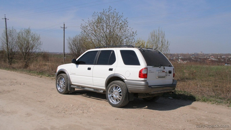 2001 isuzu rodeo suv specifications pictures prices rh cars specs com 2001 Isuzu Rodeo Red 2004 Isuzu Rodeo