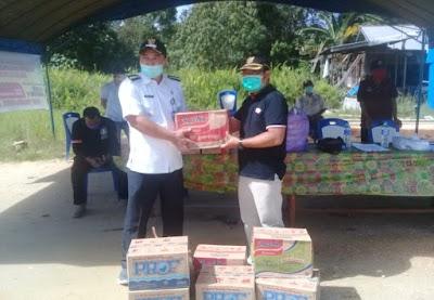 Sambangi Posko Covid-19 di Desa Pujon, Didi Salurkan Bantuan