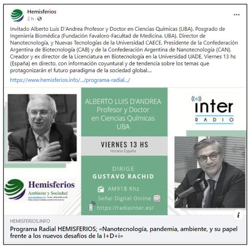 2021 Radio Hemisferios (España)