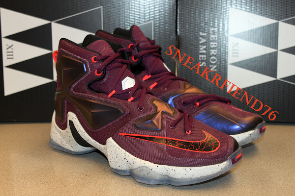 Upcoming Nike LeBron 13 Mulberry the Whole Package