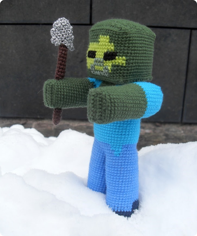 Zombie fra Minecraft