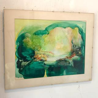 Sandra Baker Signed Painting #3