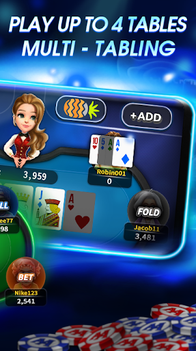 AA Poker - Holdem, Omaha, Blackjack, OFC 2.0.36 screenshots 9