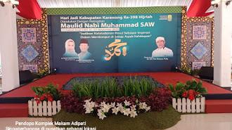 Milad ke 398 Hijriyah, Komplek Makam Adipati Singaperbangsa Sudah Ready