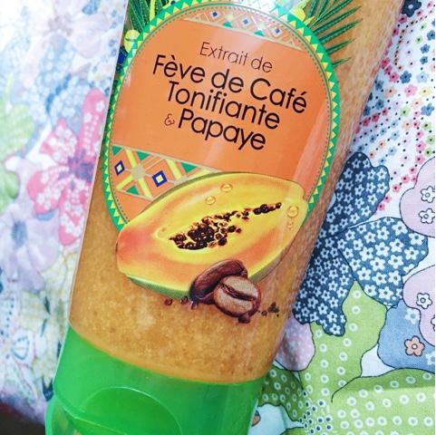 Fève Café Brésil blog beauté gommage