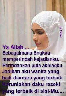 Tips Agar Tetap Cantik Secara Islami