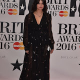 OIC - ENTSIMAGES.COM - Pixie Geldof at the  The BRIT Awards 2016 (BRITs) in London 24th February 2016.  Raymond Weil's  Official Watch and  Timing Partner for the BRIT Awards. Photo Mobis Photos/OIC 0203 174 1069