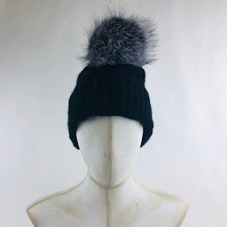 Saks Fifth Ave. Hat w/ Coyote Bobble