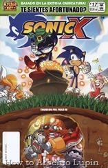 Actualización 02/11/2017. Se agrega el numero 17 de Sonic X por Pablo_Av para The Tails Archive y La casita de Amy Rose.