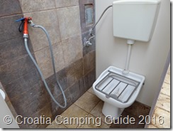 Croatia Camping Guide - Camp Strasko Chem Toilet
