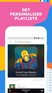 SoundCloud - Stream Music and Discover New Sounds Screenshot