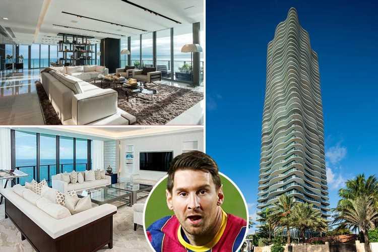 31 Interrior decor ideas to steal from Lionel Messi £5m luxury Miami apartment